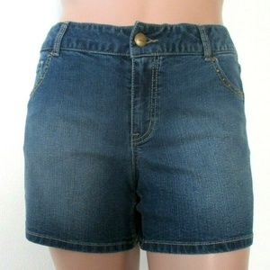 Lane Bryant Shorts - LANE BRYANT Jean Shorts Plus Size 14 NWT